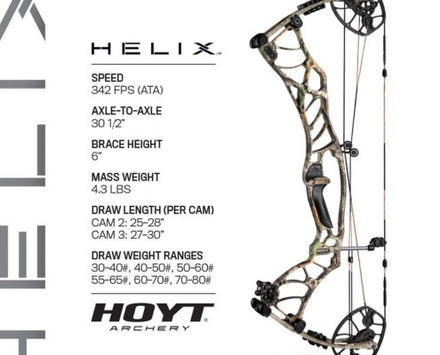 Hoyt Archery Helix Compound Bow Spec Sheet