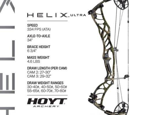 Hoyt Archery Helix Compound Bow Ultra Spec Sheet