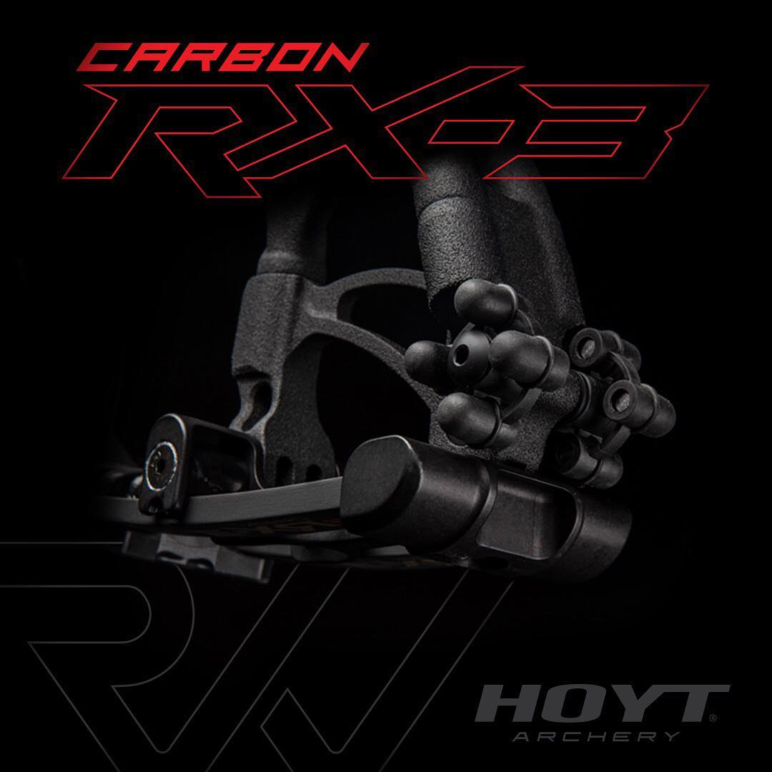 2019 Hoyt Archery News Carbon RX 3 Limb Dampeners