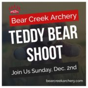 Denver Archery Teddy Bear Shoot
